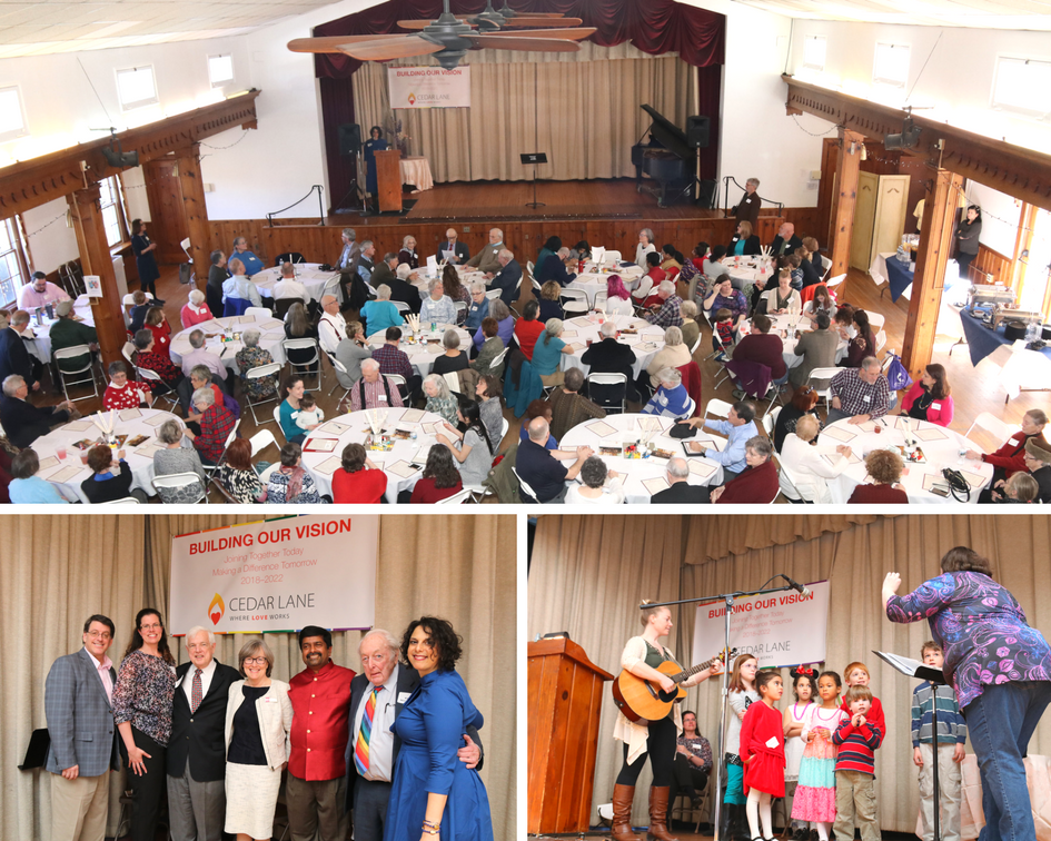 collage of Building Our Vision Luncheon on March 3, 2018