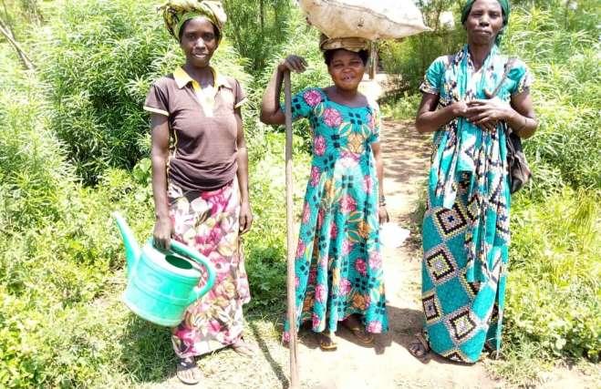 women of rwenena, congo D.R.