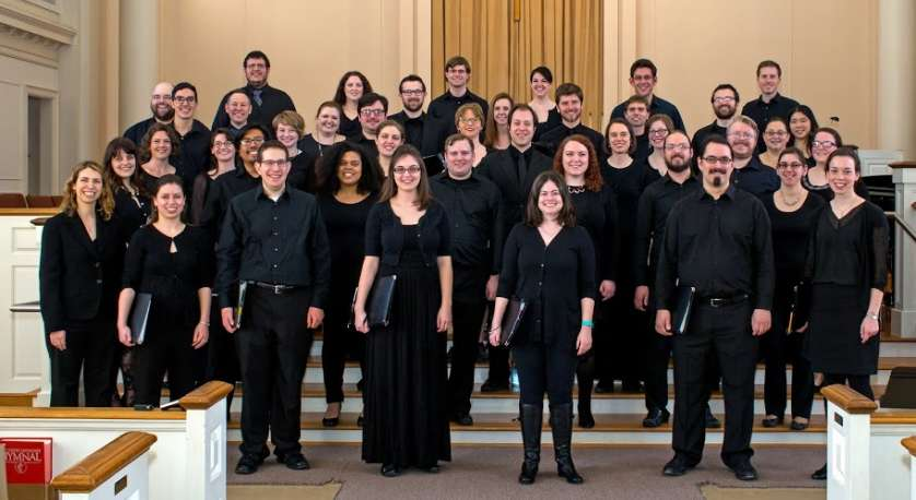 Six Degree Singers group photo