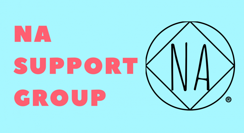 NA support group graphic