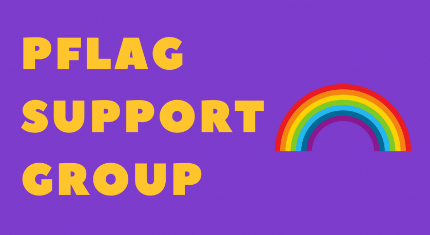 promo item for PFlag Support Group at Cedar Lane