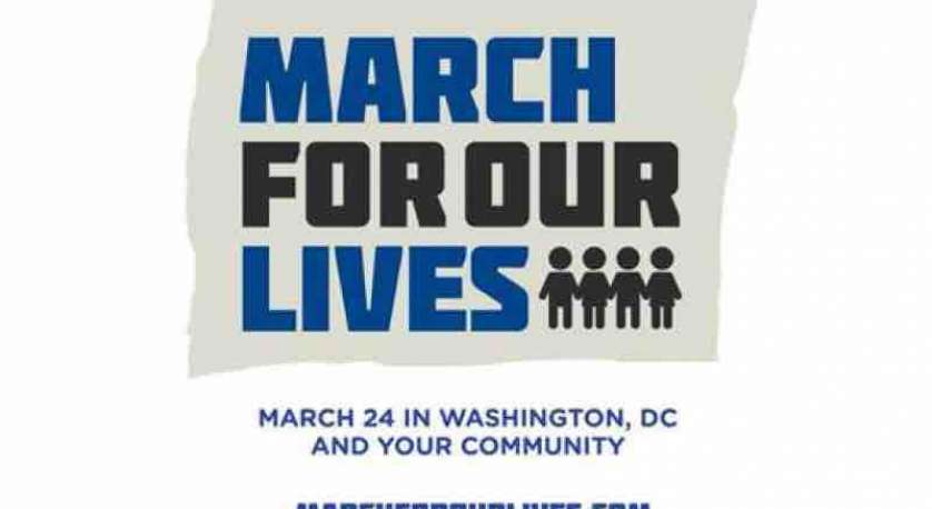 march for our lives march and rally graphic for March 24, 2018