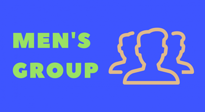 men's group promo graphic