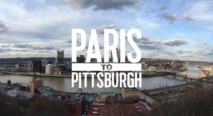 promo image for documentary Paris to Pittsburgh