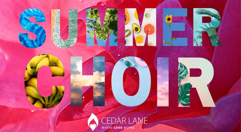summer choir graphic